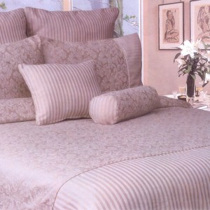 Bed Pack Louise Coral @ bedlinenonline.com.au