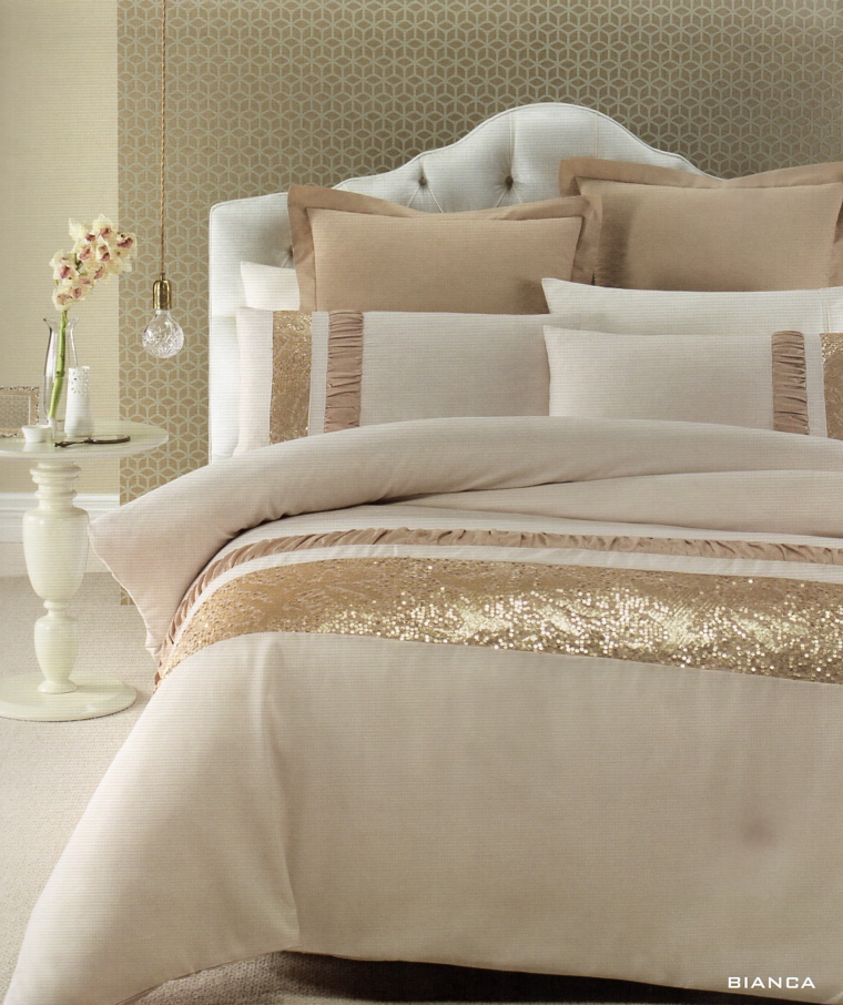 Our textile stylists create an extensive range of bed linen, sheets, towels, cushion, curtains, coordinating bedding accessories to ensure they cater for a range of individual styles and exclusive ranges for local and regional retailer. The premier place to purchase beddings online. Bedroom Affairs' beddings are both gentle and supple.