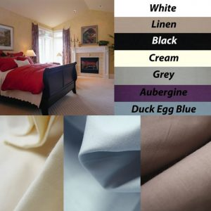 Fitted Sheet Set 250 TC Cotton