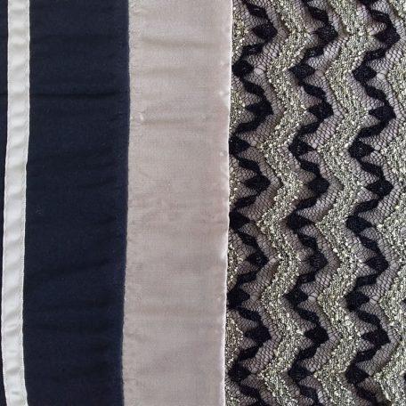 Estella Quilt Cover Set detail - lace