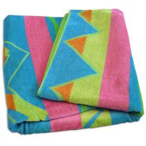 Aqua Sea Beach Towel