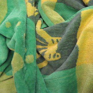 Three Fishes Beach Towel