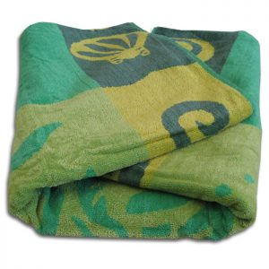 Three Fishes Beach Towel