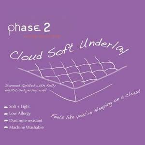 Cloud Soft Underlay Mattress Topper 2