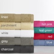 Egyptian Cotton Bath Towel Range