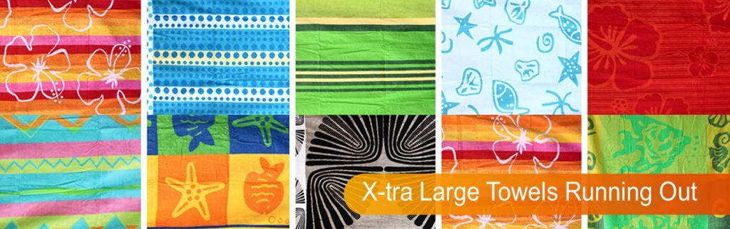 Extra Large Beach Towels @ Bed Linen Online