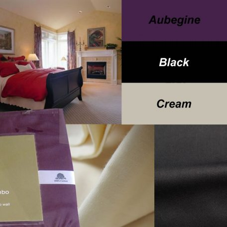 250 TC Cotton Fitted Sheet Set / Combo