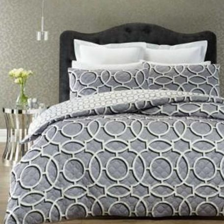 Marrakesh Quilt Cover Set Grey